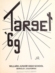 Page 3, 1969 Edition, Willard Middle School - Target Yearbook (Berkeley, CA) online yearbook collection