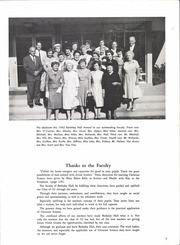 Page 5, 1962 Edition, Berkeley Hall School - Yearbook (Beverly Hills, CA) online yearbook collection
