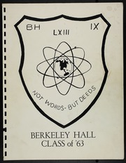 1963 Edition, Berkeley Hall School - Yearbook (Beverly Hills, CA)