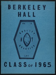 1965 Edition, Berkeley Hall School - Yearbook (Beverly Hills, CA)