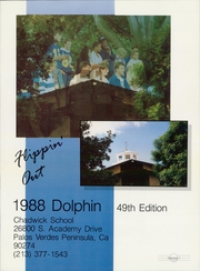 Page 5, 1988 Edition, Chadwick School - Dolphin Yearbook (Palos Verdes Peninsula, CA) online yearbook collection