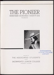 Page 7, 1936 Edition, Sacramento City College - Pioneer Yearbook (Sacramento, CA) online yearbook collection