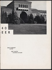 Page 7, 1940 Edition, Sacramento City College - Pioneer Yearbook (Sacramento, CA) online yearbook collection