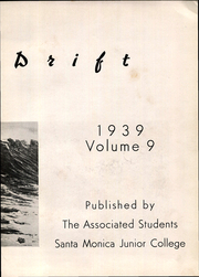 Page 7, 1939 Edition, Santa Monica College - Spin Drift Yearbook (Santa Monica, CA) online yearbook collection