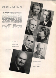 Page 9, 1939 Edition, Santa Monica College - Spin Drift Yearbook (Santa Monica, CA) online yearbook collection