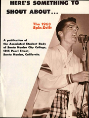 Page 5, 1963 Edition, Santa Monica College - Spin Drift Yearbook (Santa Monica, CA) online yearbook collection