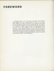 Page 8, 1954 Edition, California State University Sacramento - Statesman Yearbook (Sacramento, CA) online yearbook collection