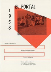 Page 5, 1958 Edition, Fresno Union Academy - El Portal Yearbook (Fresno, CA) online yearbook collection