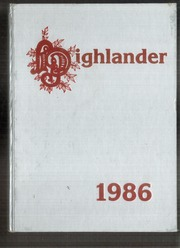 1986 Edition, Hoover Middle School - Highlander Yearbook (Lakewood, CA)