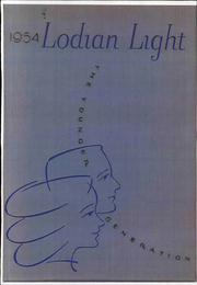 1954 Edition, Lodi Academy - Lodian Light Yearbook (Lodi, CA)
