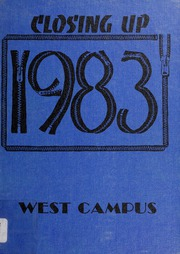 West Campus Junior High School - Yearbook (Berkeley, CA) online yearbook collection, 1983 Edition, Page 1