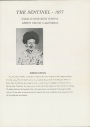 Page 5, 1977 Edition, Palm Middle School - Sentinel Yearbook (Lemon Grove, CA) online yearbook collection