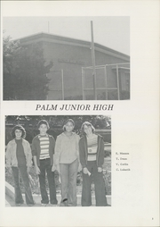 Page 7, 1977 Edition, Palm Middle School - Sentinel Yearbook (Lemon Grove, CA) online yearbook collection