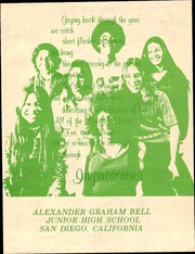 Page 5, 1975 Edition, Bell Middle School - Classical Expressions Yearbook (San Diego, CA) online yearbook collection
