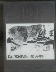 1971 Edition, De Anza Middle School - La Ventura de Anza Yearbook (Ventura, CA)
