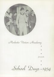Page 9, 1954 Edition, Modesto Union Academy - El Capitan Yearbook (Modesto, CA) online yearbook collection