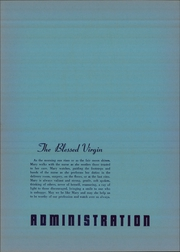 Page 10, 1947 Edition, Queen of Angels College of Nursing - Liber Reginae Yearbook (Los Angeles, CA) online yearbook collection