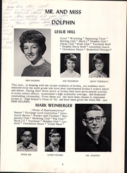 Page 7, 1963 Edition, David Starr Jordan Junior High School - Dolphin Yearbook (Palo Alto, CA) online yearbook collection