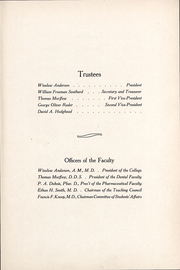 Page 10, 1909 Edition, University of the Pacific School of Dentistry - Chips Yearbook (San Francisco, CA) online yearbook collection