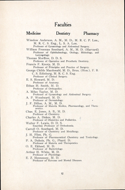 Page 11, 1909 Edition, University of the Pacific School of Dentistry - Chips Yearbook (San Francisco, CA) online yearbook collection