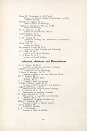 Page 13, 1909 Edition, University of the Pacific School of Dentistry - Chips Yearbook (San Francisco, CA) online yearbook collection