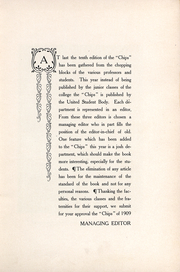 Page 4, 1909 Edition, University of the Pacific School of Dentistry - Chips Yearbook (San Francisco, CA) online yearbook collection