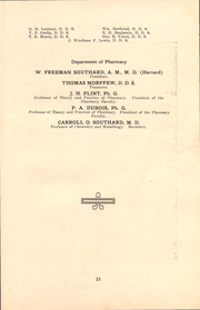 Page 10, 1913 Edition, University of the Pacific School of Dentistry - Chips Yearbook (San Francisco, CA) online yearbook collection