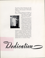 Page 8, 1941 Edition, University of the Pacific School of Dentistry - Chips Yearbook (San Francisco, CA) online yearbook collection
