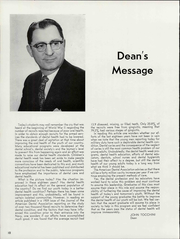 Page 14, 1961 Edition, University of the Pacific School of Dentistry - Chips Yearbook (San Francisco, CA) online yearbook collection