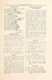Page 17, 1921 Edition, Garfield Junior High School - Gleaner Yearbook (Berkeley, CA) online yearbook collection