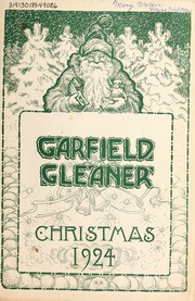 Garfield Junior High School - Gleaner Yearbook (Berkeley, CA) online yearbook collection, 1924 Edition, Page 1
