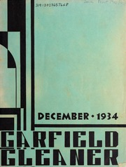 Page 1, 1934 Edition, Garfield Junior High School - Gleaner Yearbook (Berkeley, CA) online yearbook collection