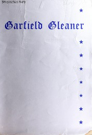 Garfield Junior High School - Gleaner Yearbook (Berkeley, CA) online yearbook collection, 1936 Edition, Page 1