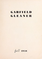 Page 3, 1938 Edition, Garfield Junior High School - Gleaner Yearbook (Berkeley, CA) online yearbook collection