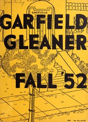 1952 Edition, Garfield Junior High School - Gleaner Yearbook (Berkeley, CA)