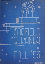 1953 Edition, Garfield Junior High School - Gleaner Yearbook (Berkeley, CA)