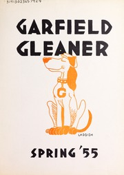 1955 Edition, Garfield Junior High School - Gleaner Yearbook (Berkeley, CA)