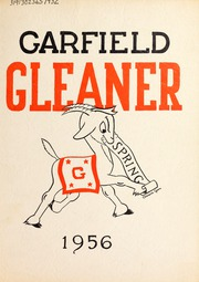1956 Edition, Garfield Junior High School - Gleaner Yearbook (Berkeley, CA)