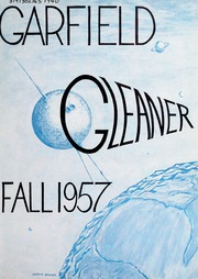 1957 Edition, Garfield Junior High School - Gleaner Yearbook (Berkeley, CA)