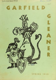 1959 Edition, Garfield Junior High School - Gleaner Yearbook (Berkeley, CA)