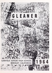 Page 5, 1964 Edition, Garfield Junior High School - Gleaner Yearbook (Berkeley, CA) online yearbook collection