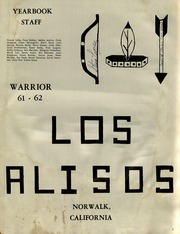 Page 3, 1962 Edition, Los Alisos Intermediate School - Warrior Yearbook (Norwalk, CA) online yearbook collection