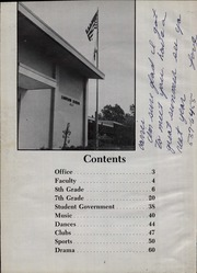 Page 6, 1977 Edition, Lampson Junior High School - Eagles Flight Yearbook (Garden Grove, CA) online yearbook collection