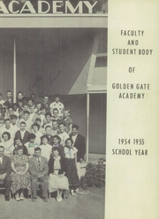 Page 13, 1955 Edition, Golden Gate Academy - Anchor Yearbook (Oakland, CA) online yearbook collection