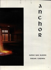 Page 7, 1966 Edition, Golden Gate Academy - Anchor Yearbook (Oakland, CA) online yearbook collection
