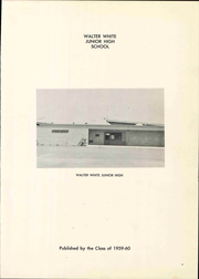 Page 7, 1960 Edition, Walter White Junior High School - Warrior Yearbook (Ceres, CA) online yearbook collection