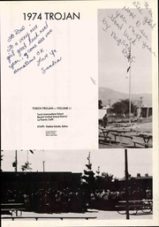 Page 7, 1974 Edition, Torch Middle School - Trojan Yearbook (La Puente, CA) online yearbook collection