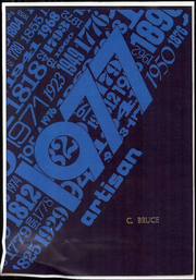 1977 Edition, Samuel Gompers Middle School - Artisan Yearbook (Los Angeles, CA)