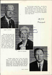 Page 13, 1966 Edition, Montebello Junior High School - Blue Eagle Yearbook (Montebello, CA) online yearbook collection