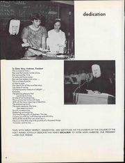 Page 10, 1967 Edition, Holy Names University - Excalibur Yearbook (Oakland, CA) online yearbook collection